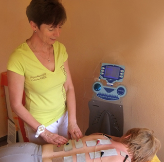 Divinia-Behandlung ©Physiotherapie Kathrin Gitter